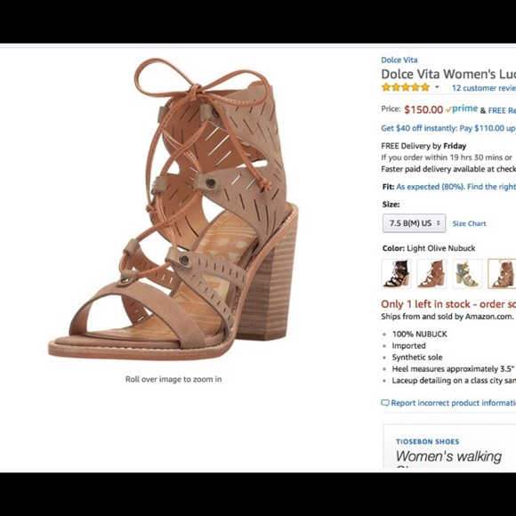 fc253c75d4c Dolce Vita Shoes - Dolce Vita lace up heeled sandals